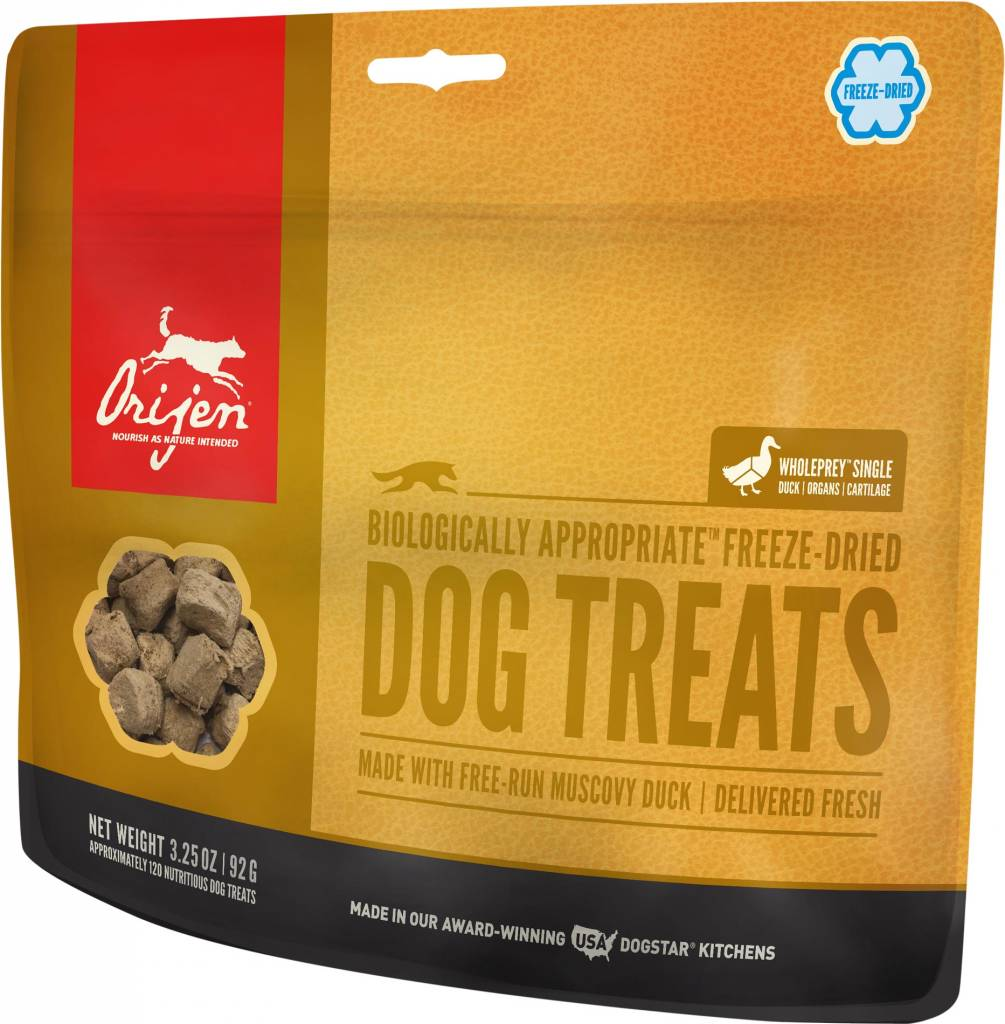 Orijen Orijen Freeze Dried Free-Run Duck Dog Treats