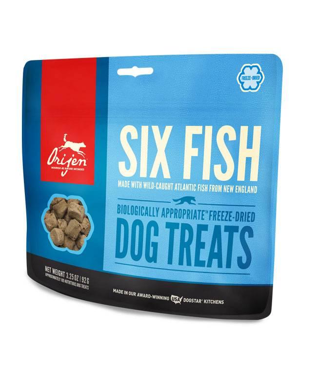 Orijen Orijen Freeze Dried Six Fish Dog Treats