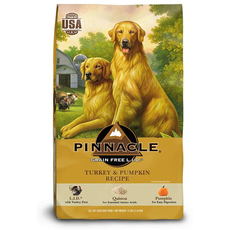Pinnacle Pinnacle Grain Free Limited Ingredient Diet Turkey & Pumpkin Dry Dog Food