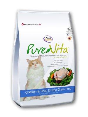 NutriSource PureVita Grain Free Chicken & Peas Dry Cat Food