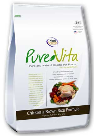 NutriSource PureVita Chicken & Brown Rice Dry Dog Food