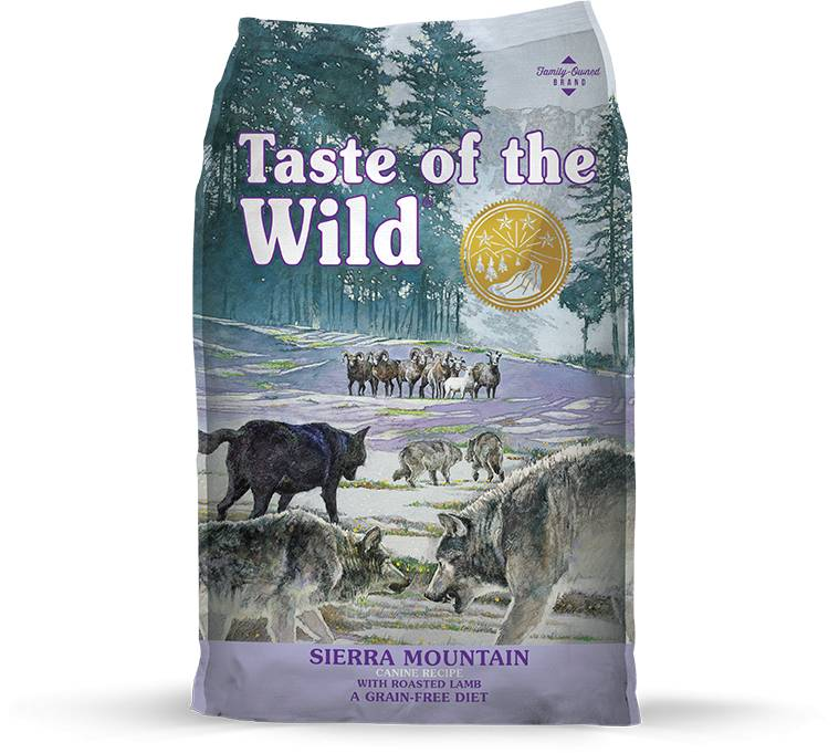 Taste of the Wild Taste of the Wild Sierra Mountain Dry Dog Food