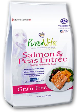 NutriSource PureVita Grain Free Salmon & Peas Dry Dog Food