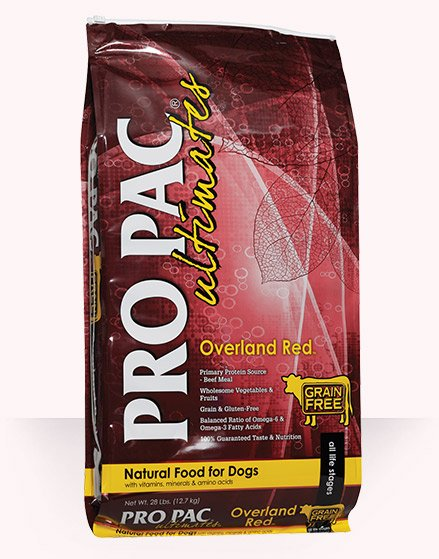 Pro Pac Pro Pac Ultimates Overland Red Dry Dog Food