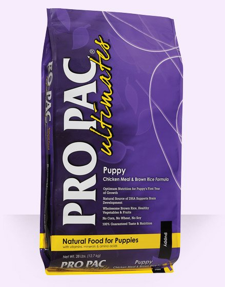 Pro Pac Pro Pac Ultimates Puppy Chicken Meal & Brown Rice Dry Dog Food