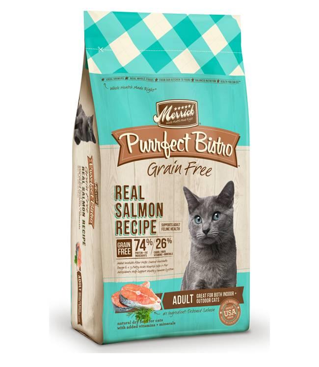 Merrick Merrick Purrfect Bistro Grain Free Salmon Dry Cat Food