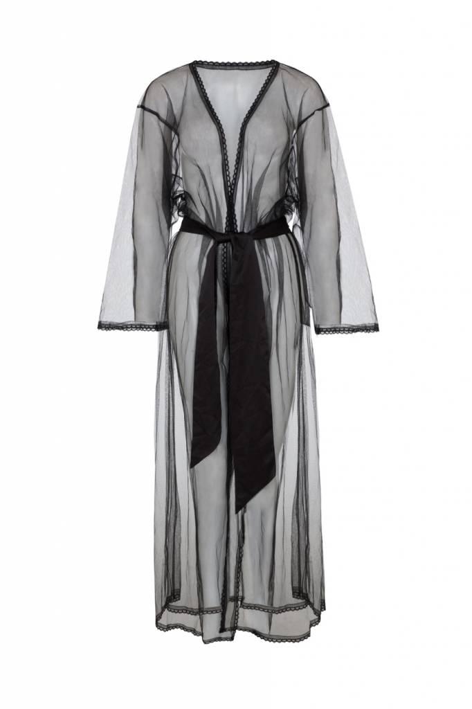 Playful Promises Gabi Fresh Betty sheer tulle robe