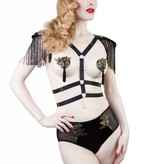 Playful Promises Tommy harness w/ epaulettes