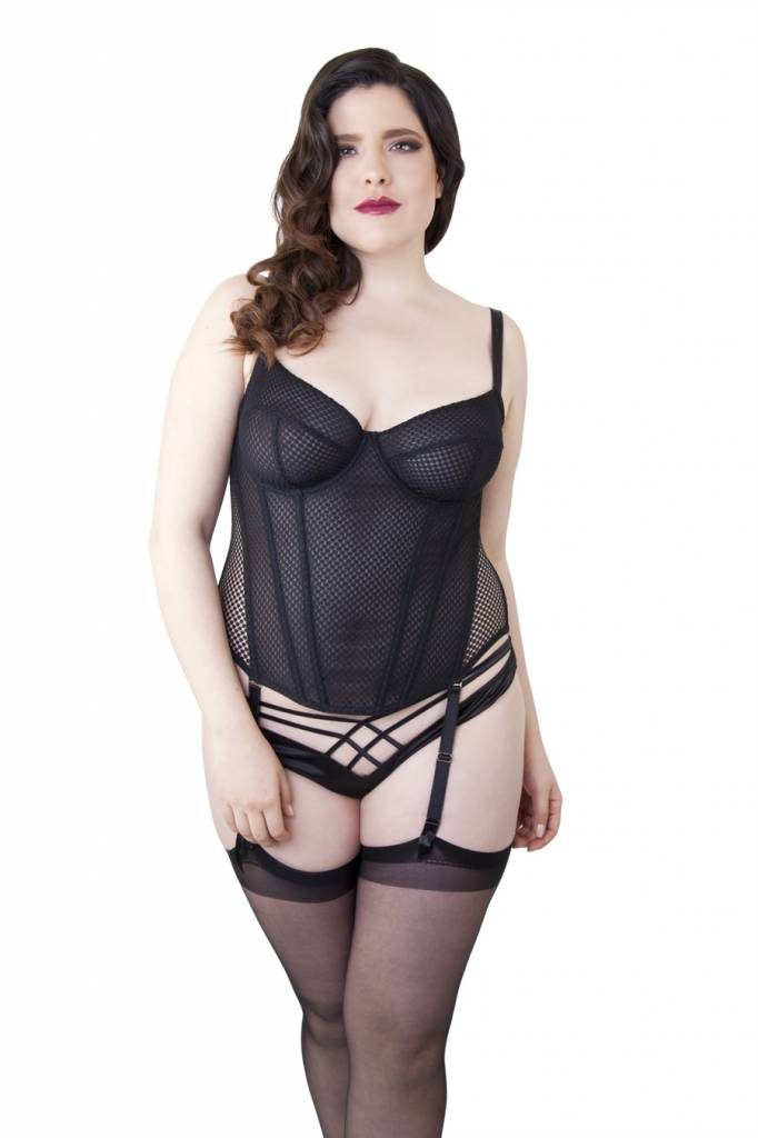 Playful Promises Carlota tulle basque