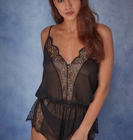 Playful Promises Wolf & Whistle Luana playsuit