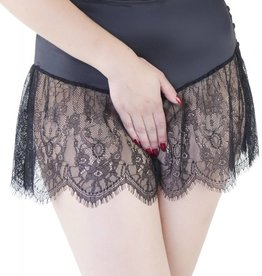 Playful Promises Bettie Page retro lace French knicker