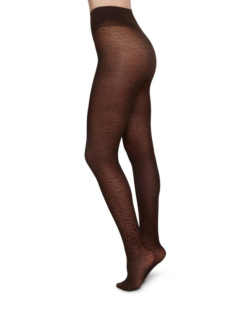 Swedish Stockings Emma leopard tights
