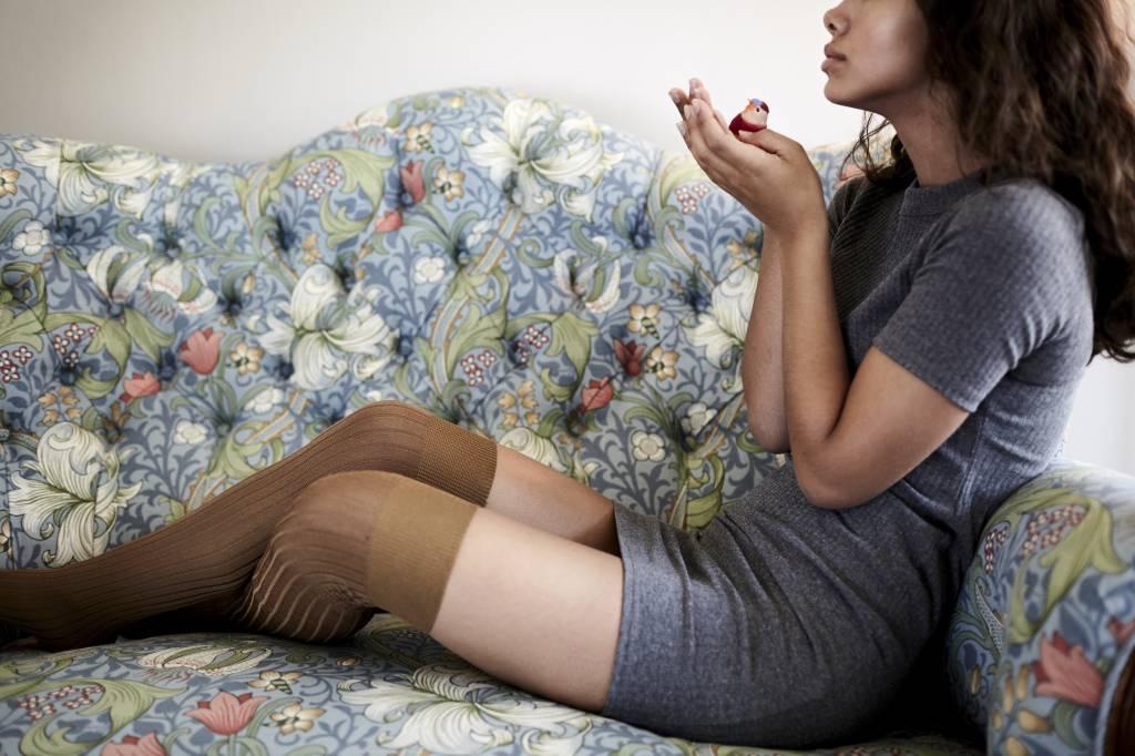 Swedish Stockings Ella over the knee socks