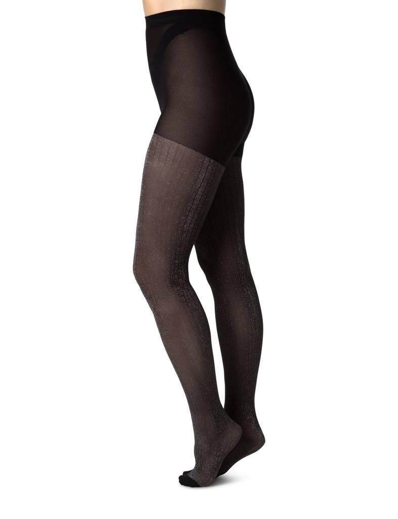 Swedish Stockings Lisa Lurex rib