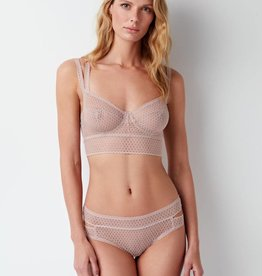 Else Pointelle full cup longline 32C