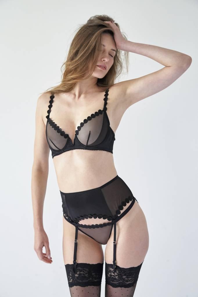 Mimi Holliday Briolette Jet comfort bra