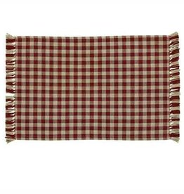 Park Designs Gingham Wine Placemat
