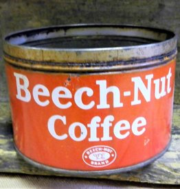 Beech Nut Coffee Tin, Vintage