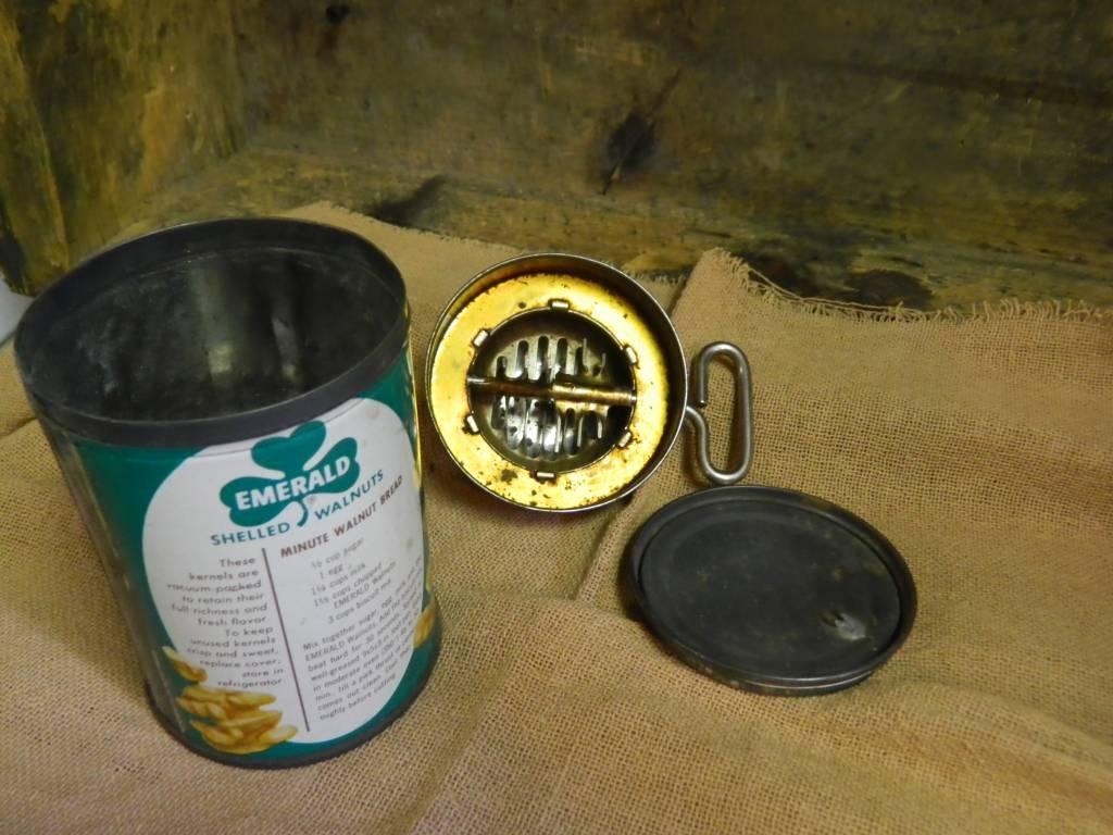 Walnut Tin with chopper