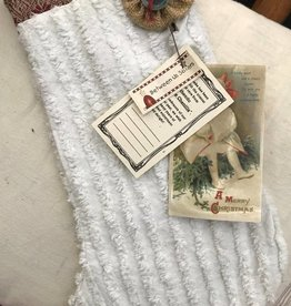 Chenille Stocking