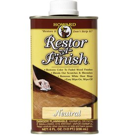 Howard Products Restor-A-Finish, Neutral 1/2 pt