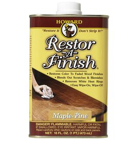 Howard Products Restor-A-Finish, Maple-Pine 1/2 Pint