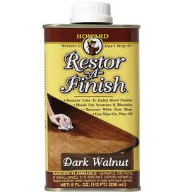 Howard Products Restor-A-Finish, Dark Walnut 1/2