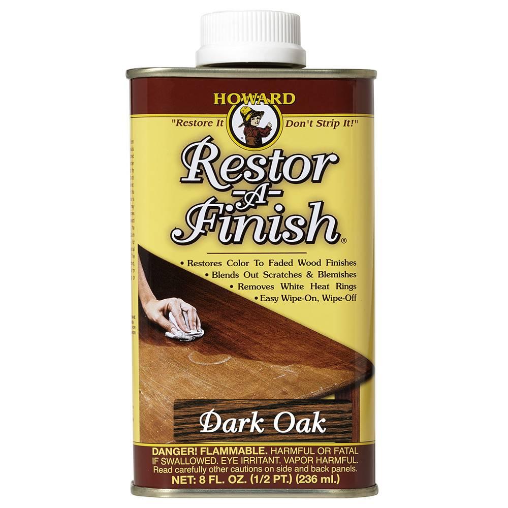 Howard Products Restor-A-Finish, Dark Oak 1/2pt