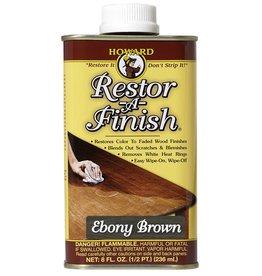Howard Products Restor-A-finish, Ebony 1/2 pt