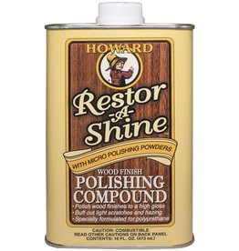 Howard Products Restor-A-Shine, Polishing