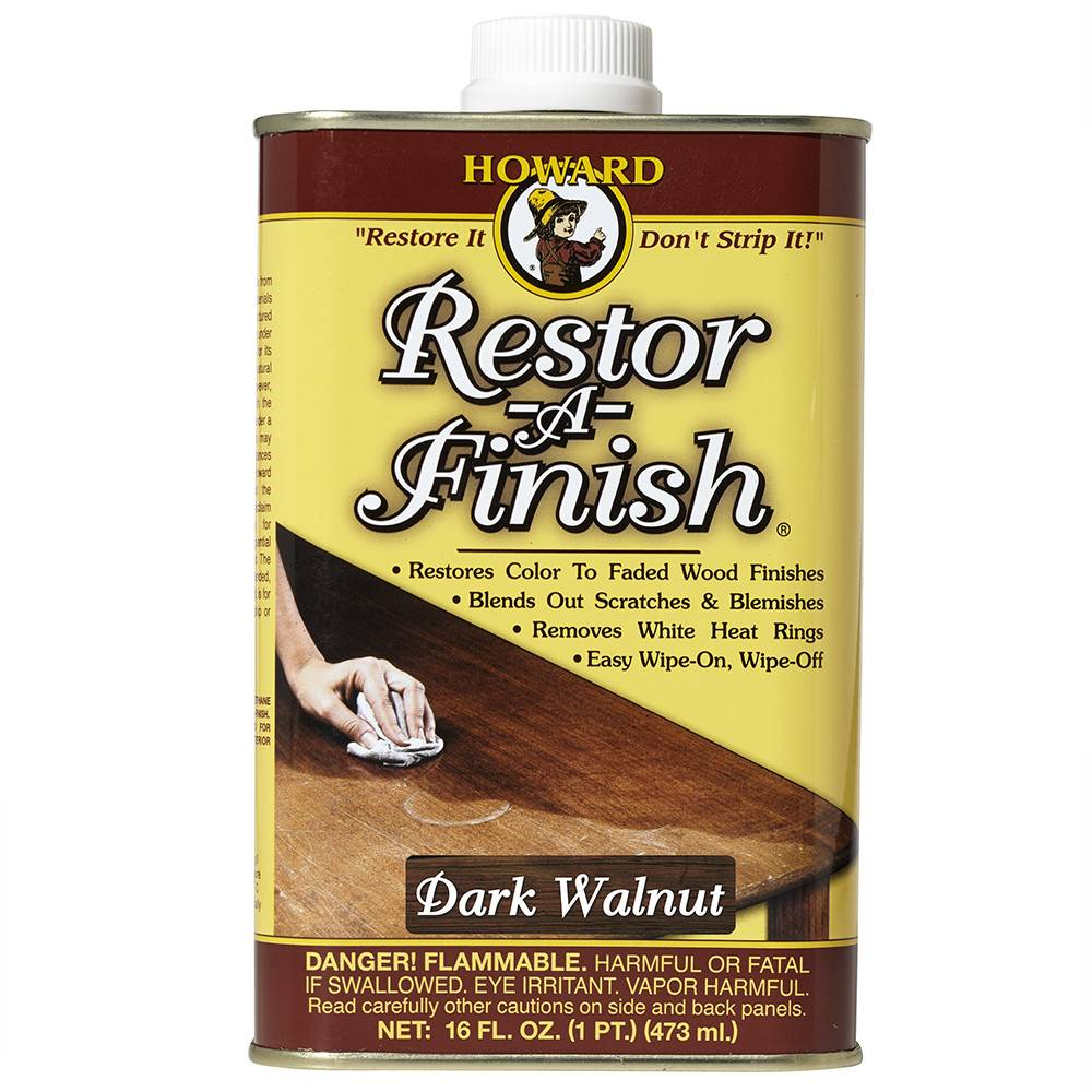 Howard Products Restor-A-Finish, Dark Walnut