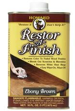 Howard Products Restor-A-Finish, Ebony Brown