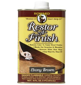 Howard Products Restor-A-Finish, Ebony Brown