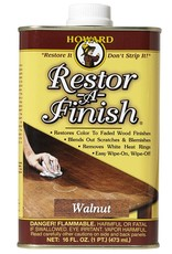 Howard Products Restor-A-Finish, Walnut pint