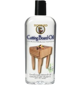 Howard Products Cutting Board Oil, 12 oz