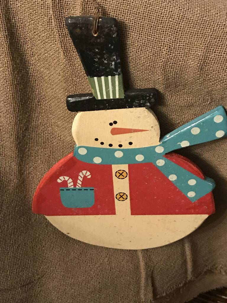 Ornament, Merry Snowman