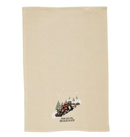 Park Designs Slide Into the Holidays Dishtowel