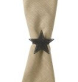 Park Designs BLACK STAR NAPKIN RING