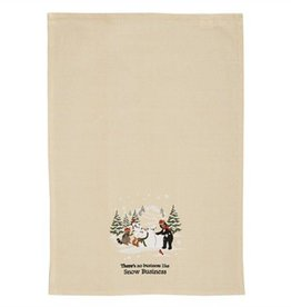 Park Designs Snow Business Dishtowel