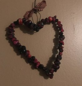 Homemade Dried Cranberry Heart