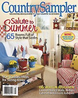 Country Sampler Magazine Country Sampler July 2012