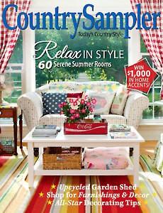 Country Sampler Magazine Country Sampler Magazine, July 2017