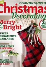 Country Sampler Magazine Country Sampler Magazine, Christmas Special 2016