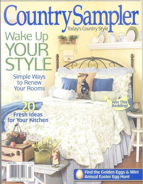 Country Sampler Magazine Country Sampler March 2014
