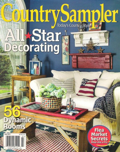 Country Sampler Magazine Country Sampler July 2015