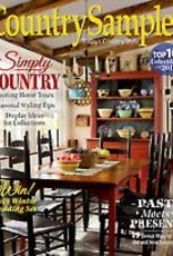 Country Sampler Magazine Country Sampler Magazine, January 2017