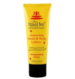The Naked Bee Pomegranate & Honey Hand & Body Lotion 2.25 oz