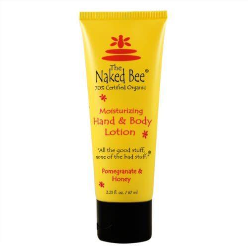 The Naked Bee Pomegranate & Honey Hand & Body Lotion 2.25 oz