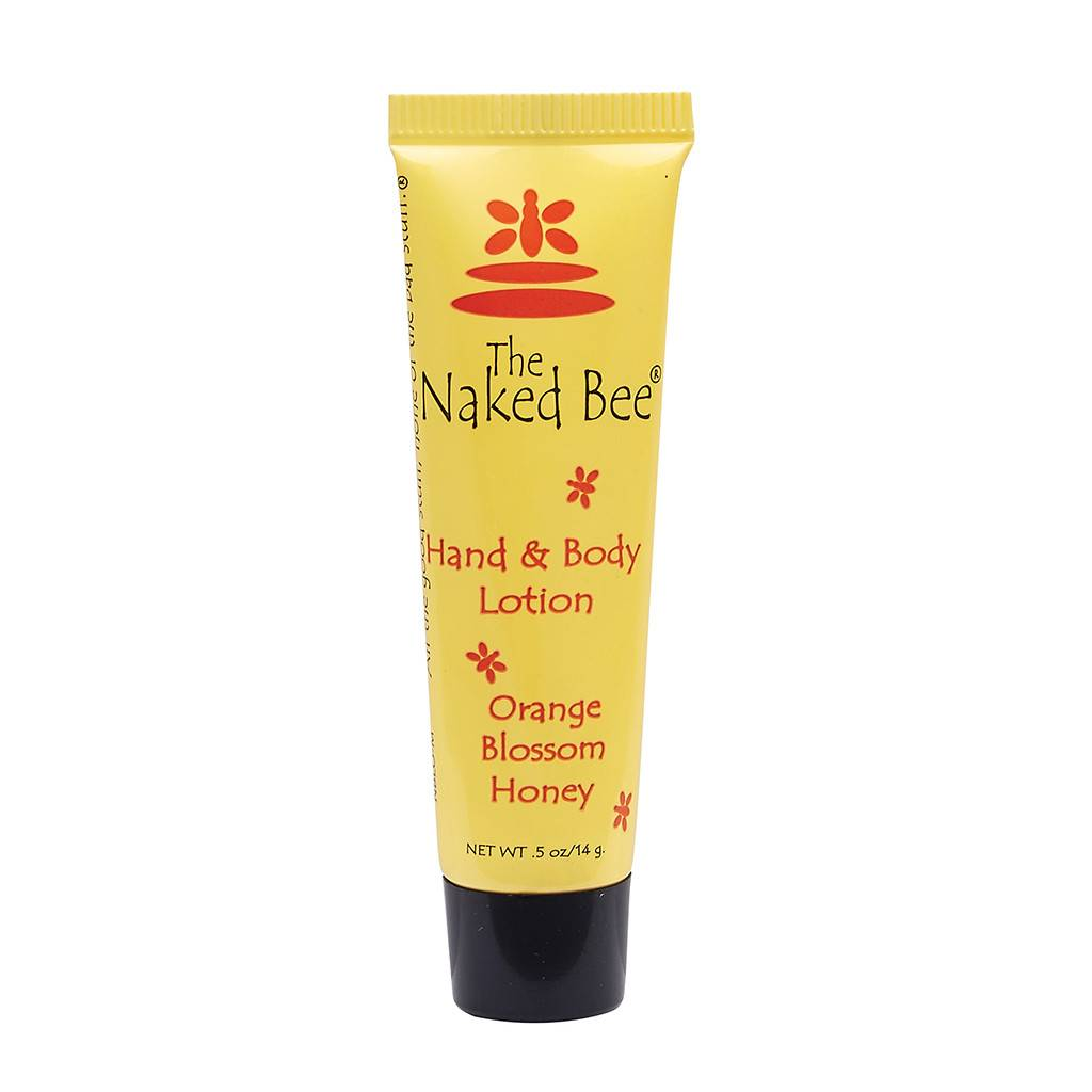 The Naked Bee Orange Blossom Hand & Body Lotion .5 oz