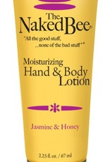 The Naked Bee Jasmine & Honey Hand & Body Lotion 2.25 oz